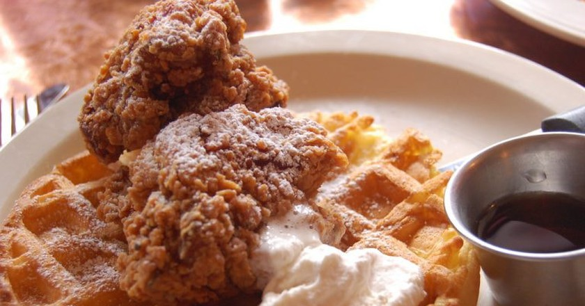 Chicken & Waffles | © snowpea&bokchoi / Flickr