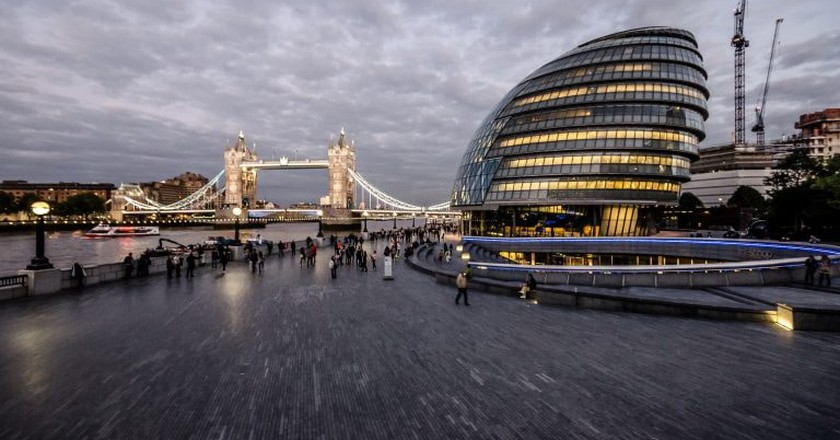 The events are taking place at London's Living Room, atop iconic City Hall