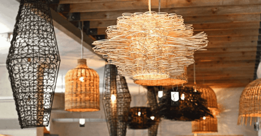 Intricate handcrafted light fittings   Courtesy of CTSB