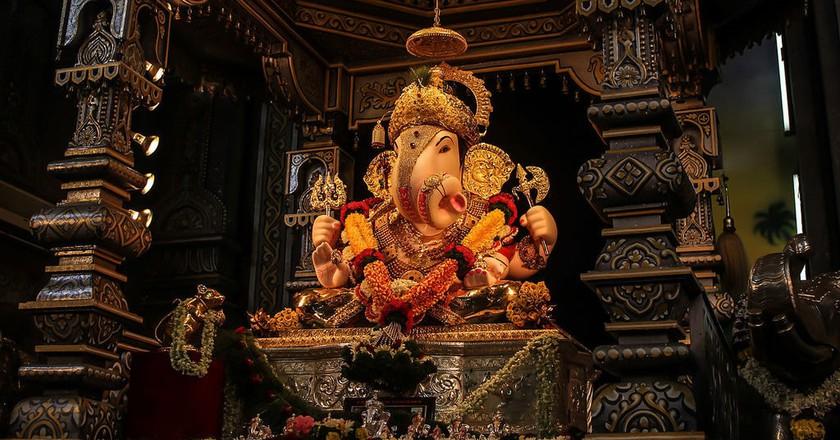 Dagdusheth Halwai Ganpati, Pune | © Dave.kaustubh/WikiCommons