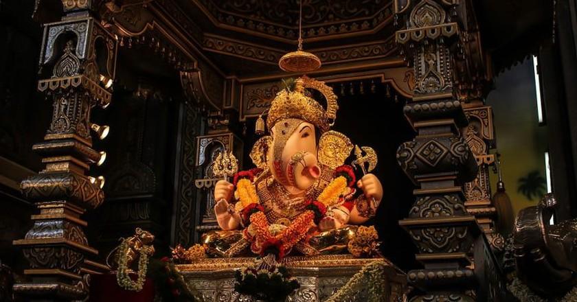 Dagdusheth Halwai Ganpati, Pune   © Dave.kaustubh/WikiCommons