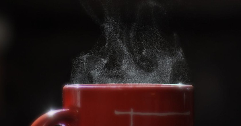 Coffee cup steam | © Dave Michuda/Unsplash