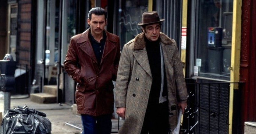 Johnny Depp and Al Pacino in 'Donnie Brasco' | © TriStar PIctures
