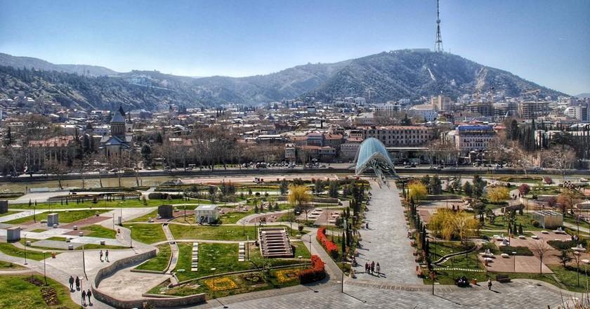 View of the Rike Park in Tbilisi | © Baia Dzagnidze