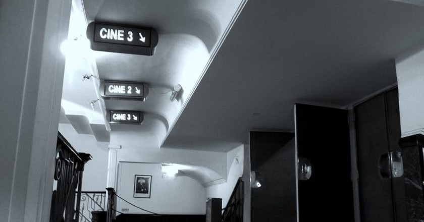 An old cinema in Buenos Aires | © Eduardo Zárate / Flickr