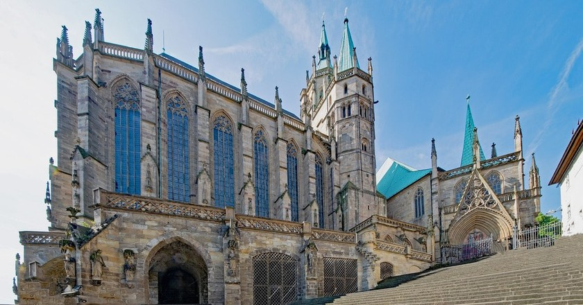 Erfurt Cathedral | © lapping / Pixabay