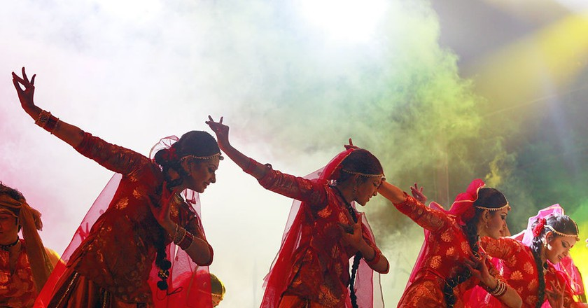 Dancers performing at Trination Mega Festival | © Faisal Akram/Wiki Commons