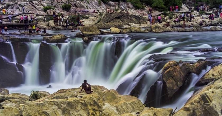 Dhuadhar Waterfalls, Jabalpur | © The.chhayachitrakar/Wiki Commons