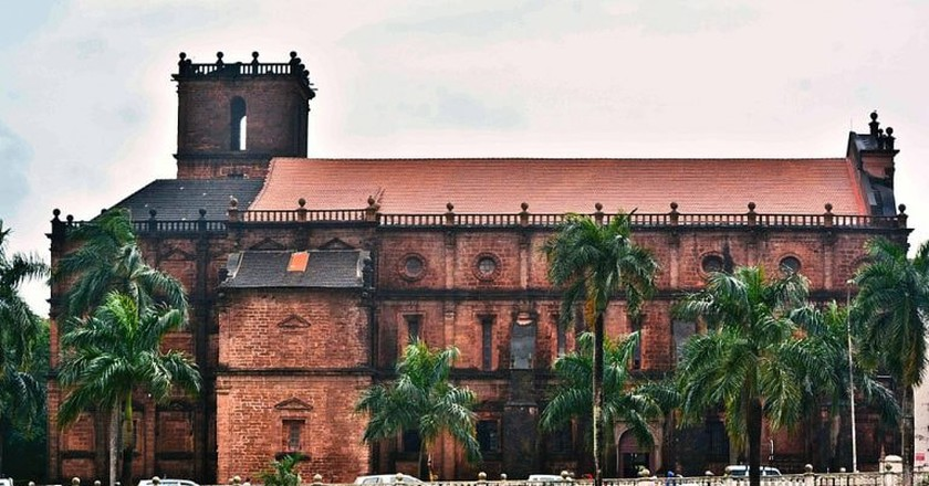 Basilica of Bom Jesus, Goa   © Anupamg/Wikimedia Commons