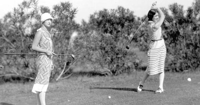 Golfers on the Coral Gables Country Club | Public Domain, via WikiCommons
