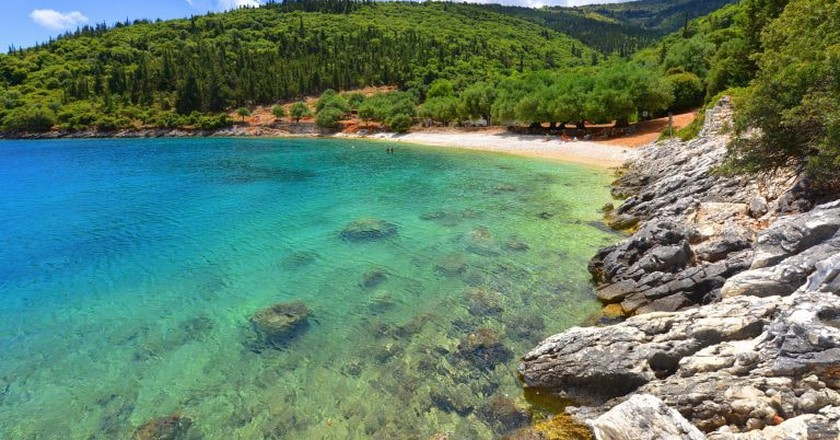 Famous Horgota beach on Kefalonia island in Greece   © Travel Republic