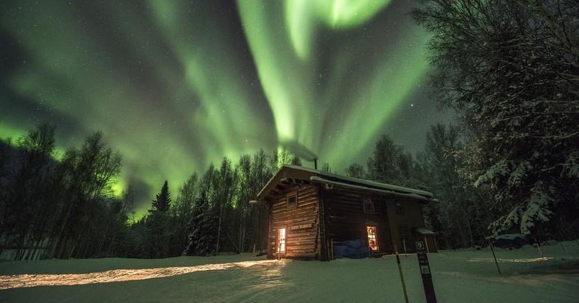 Northern lights   © NPS / Good Free Photos
