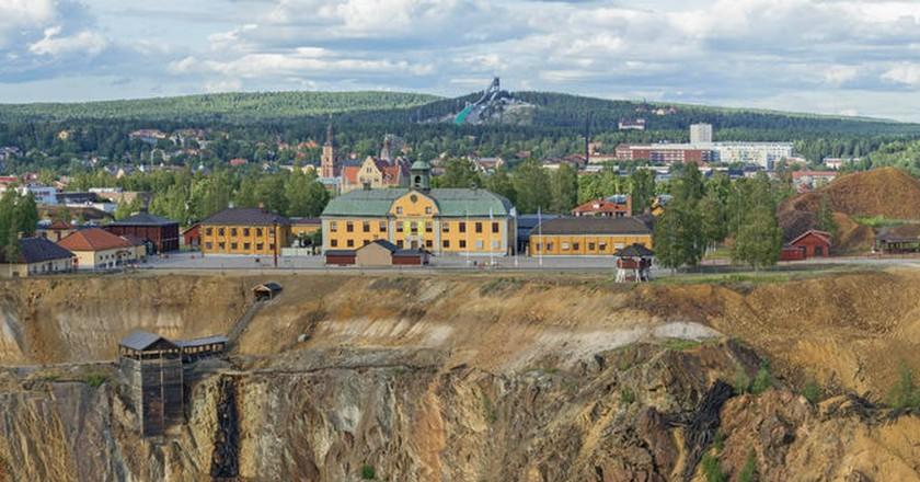 Falun's famed Great Copper Mountain | Courtesy of Falugruva / MyNewsDesk