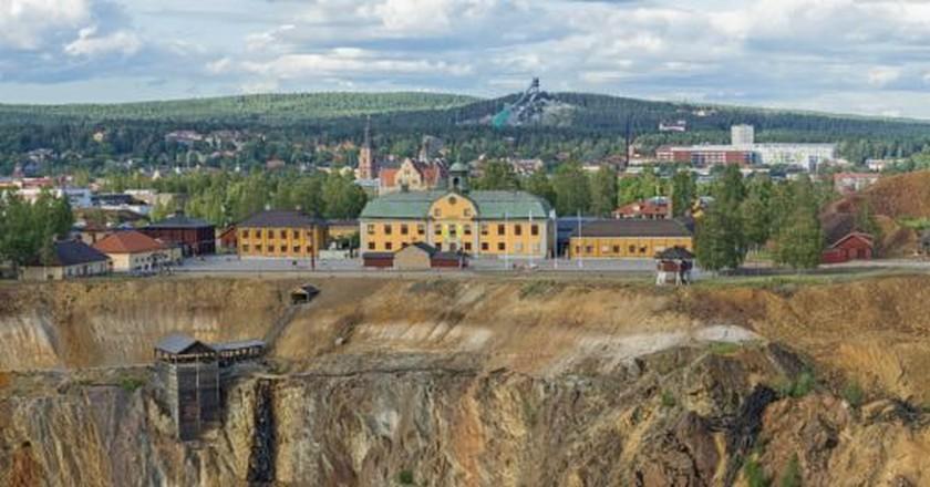 Falun's famed Great Copper Mountain   Courtesy of Falugruva / MyNewsDesk