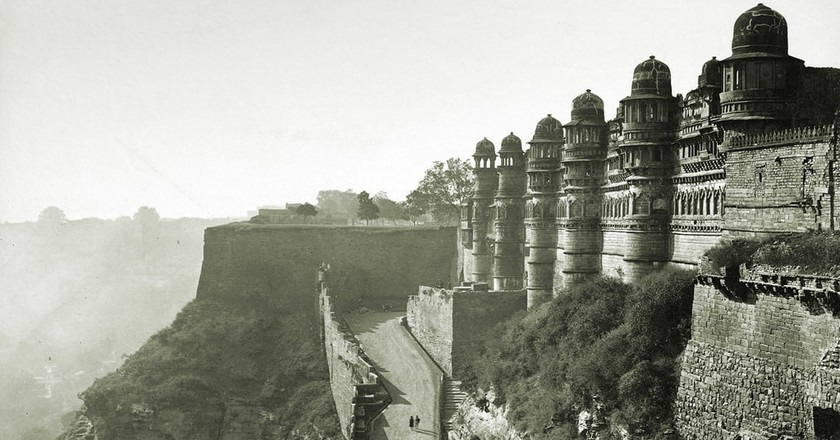 Main entrance to the Gwalior Fort and man Singh Palace   © Dayal, Deen/Wiki Commons