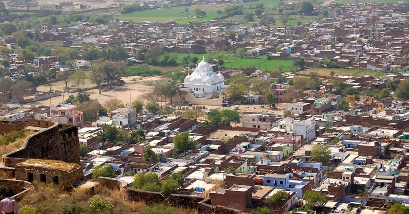 Aerial view of the city from Gwalior Fort | © Manuel Menal/Wiki Commons
