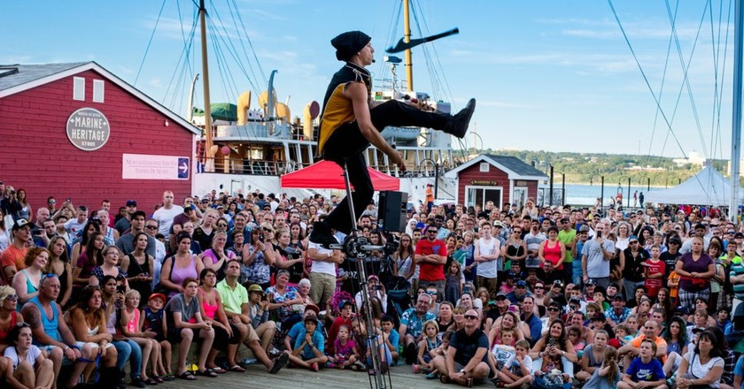 Halifax Buskers Festival