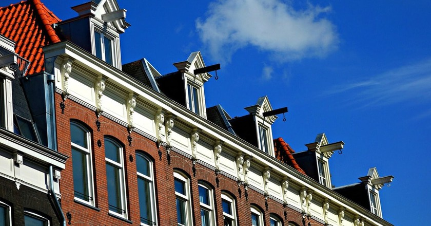 A row of typical houses in de Pijp | © pixabay