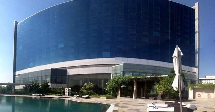 The Hyatt Regency Hotel on the arterial Anna Salai is one of Chennai's most recognisable landmarks © HyattRegencyChennai/Wiki Commons