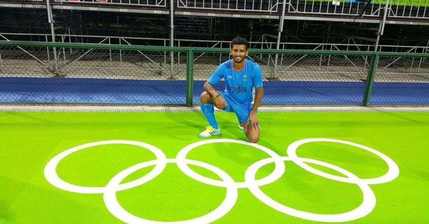 Indian Hockey Player at Rio Olympics 2016 | © Hockey India / WikiCommons