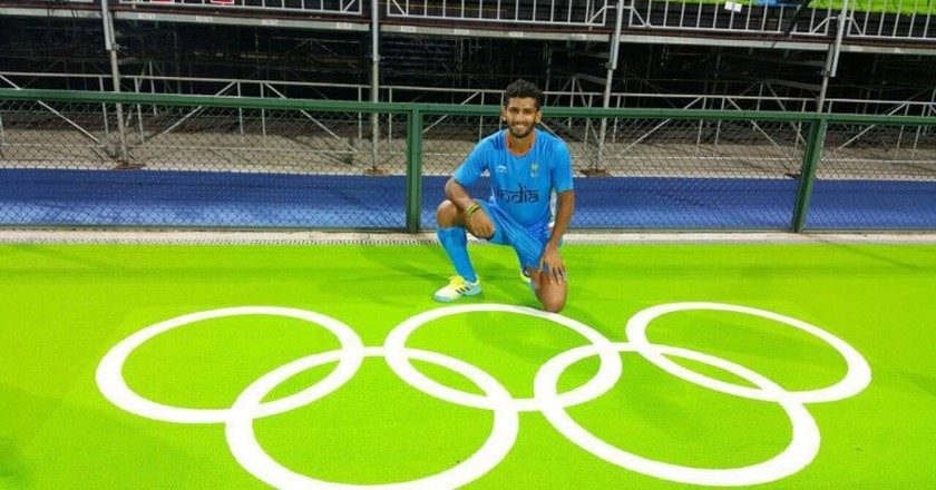 Indian Hockey Player at Rio Olympics 2016 | © Hockey India / WikiCommons