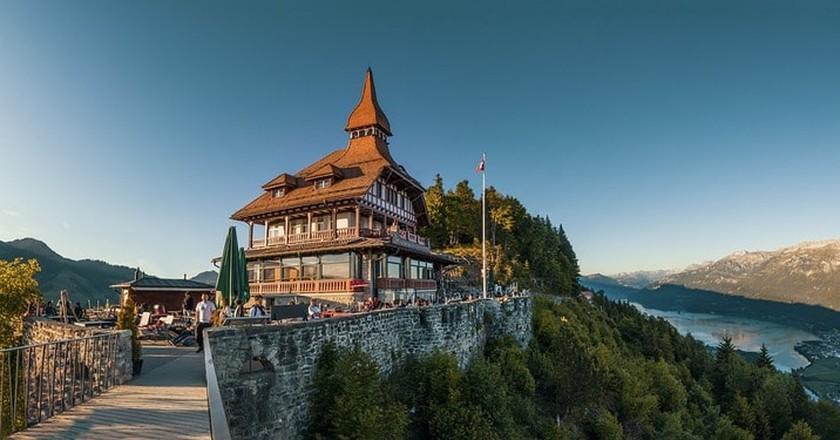 View from the Harder Kulm, Interlaken   © lukasbieri / Pixabay