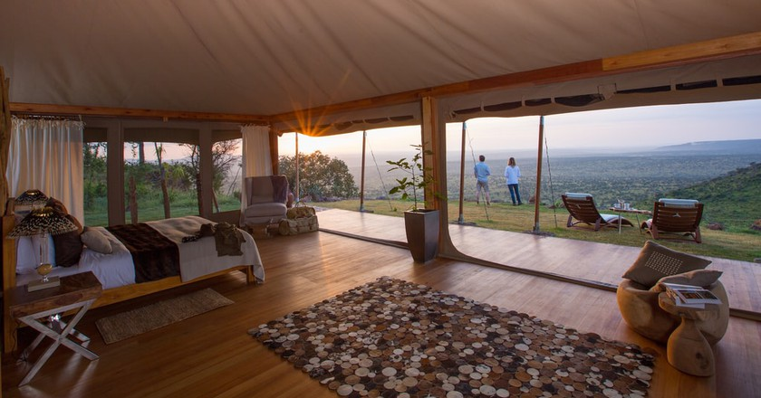Loisaba Tented Camp, Kenya Courtesy of Elewana