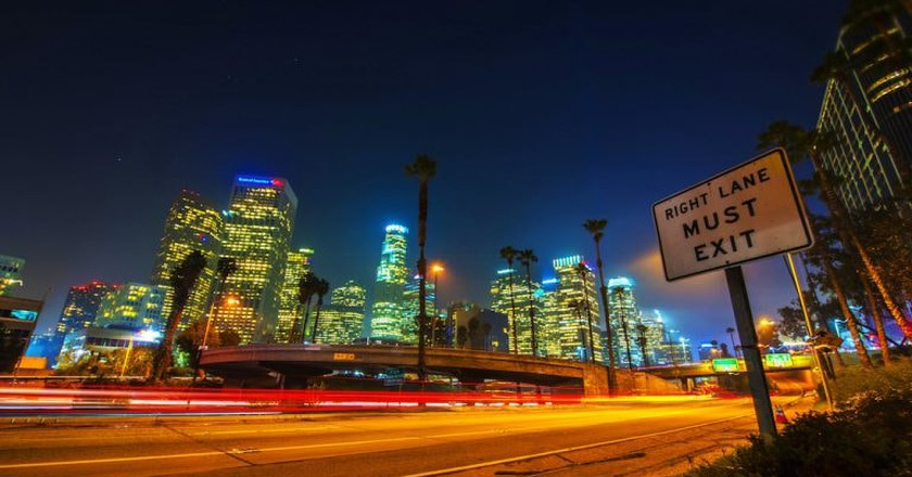 Los Angeles at night | © Jeff Cleary / Flickr