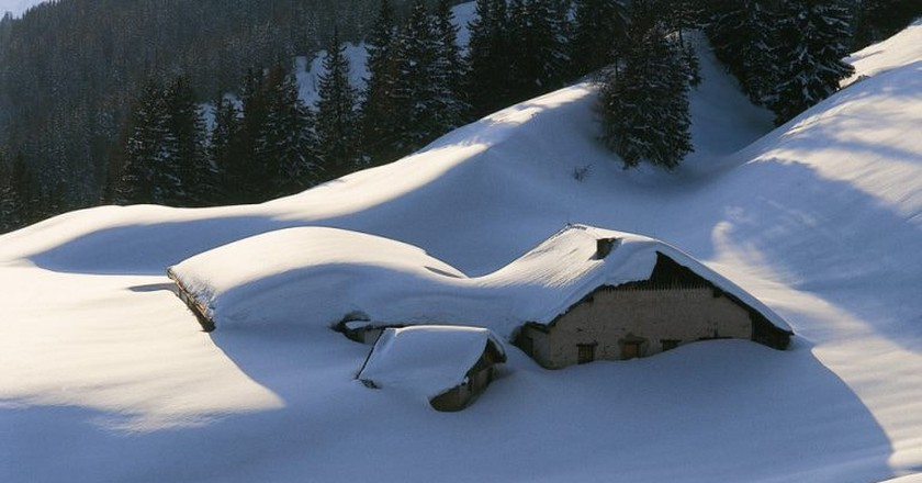Smothered in snow   Courtesy of the Austrian Tourist Board