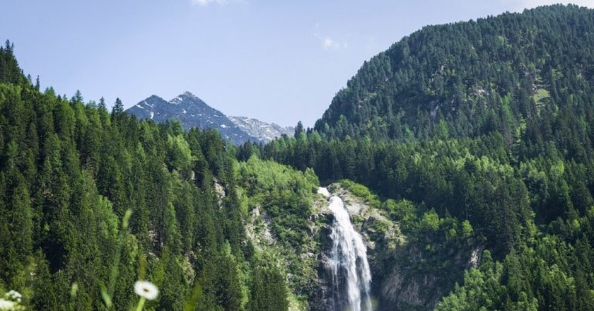 A waterfall in Tyrol's countryside |  ©  Austrian Tourist Board