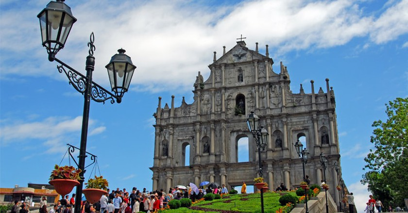Ruins of St. Paul's | Courtesy of Macao Government Tourism Office