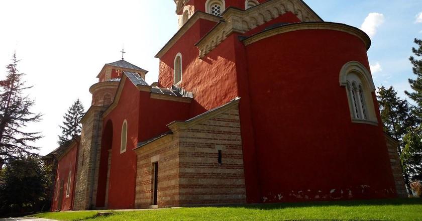 Žiča's magnificent monastery   © WikiMedia Commons