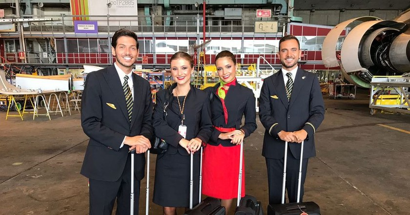 Meet a few members of the flight crew | © Courtesy of TAP Air Portugal Social Media Team