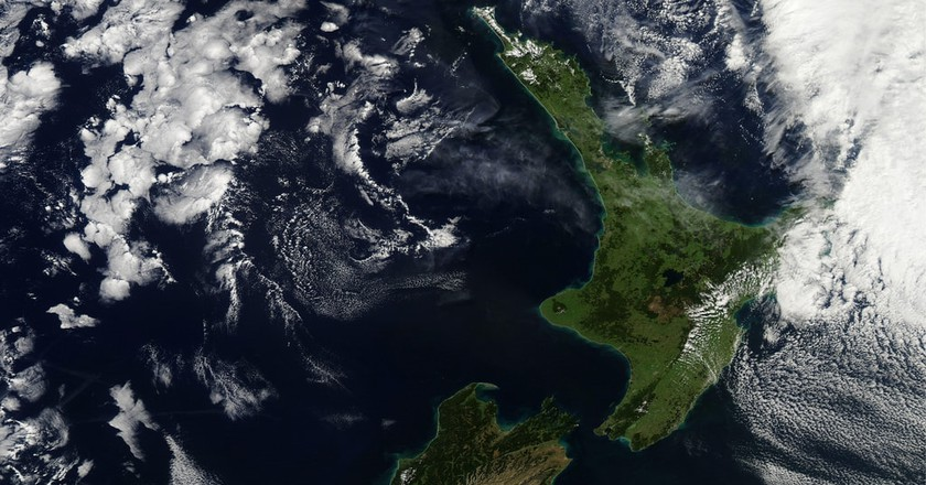 New Zealand | © NASA Goddard Space Flight Center/Flickr