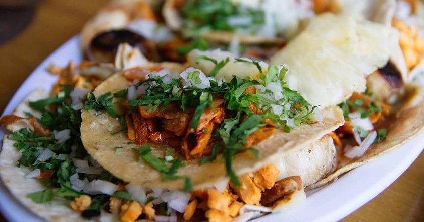 One of the vendors at Vippa Oslo offers authentic tacos Al Pastor | Courtesy of Vippa Oslo
