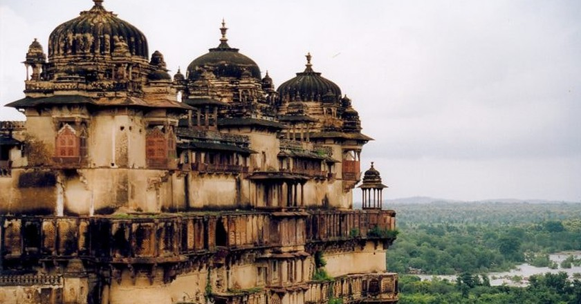 Jahangir Mahal, Orchha Fort Complex   © Doron/Wiki Commons