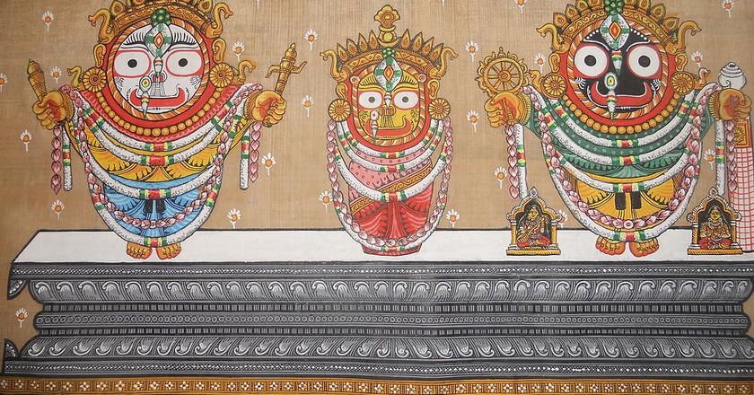 Pattachitra in Odisha | © Chinmayee Mishra / Wikimedia Commons