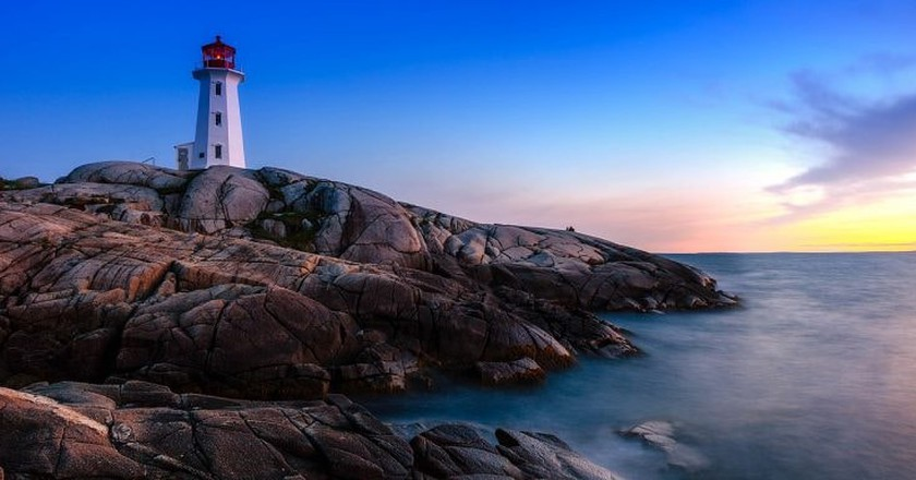 Peggy's Cove Lighthouse | © Shawn M. Kent/WikiCommons