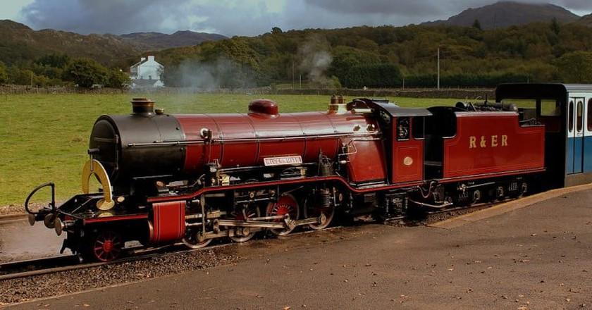 Ravenglass railway | © calflier001 / Wikimedia