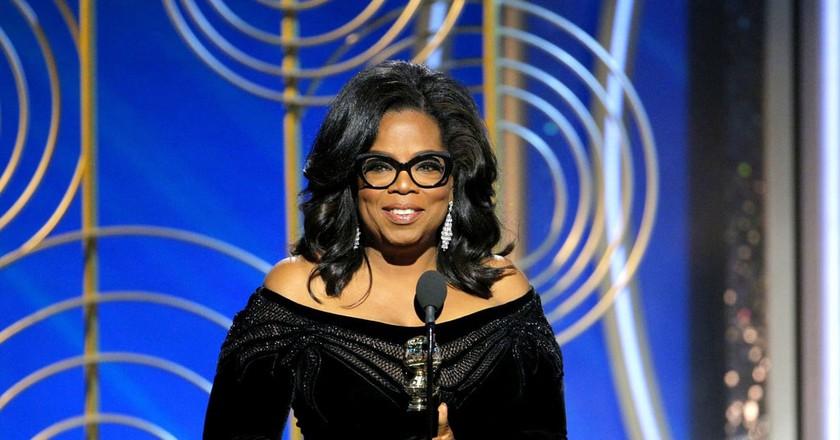 Oprah Winfrey   © Photo by USA TODAY Network/Sipa USA/REX/Shutterstock