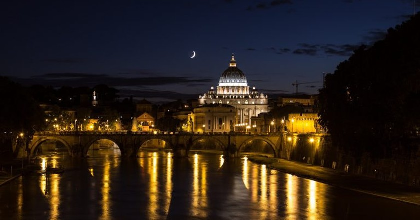 Rome at night   © visualaddition/PIxabay