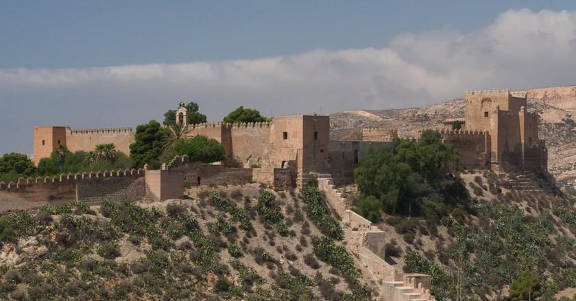 Almería's mighty Moorish fortress | © Jebulon/Wikimedia Commons