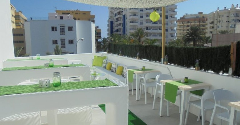 The roof terrace at Hostal Tak | Courtesy of Hostal Tak