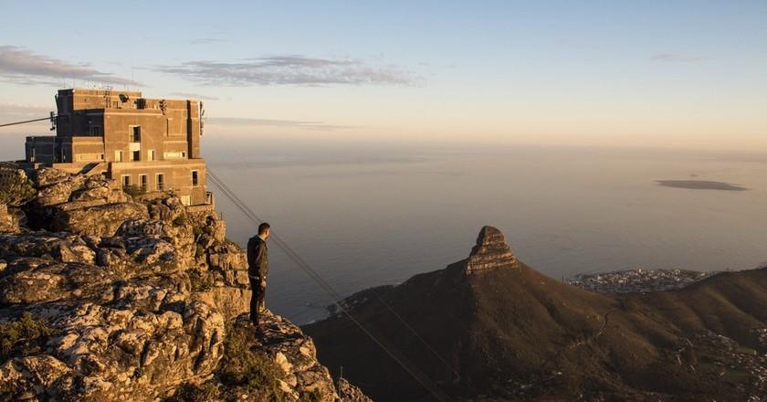 Summit of Table Mountain   Courtesy SA Tourism