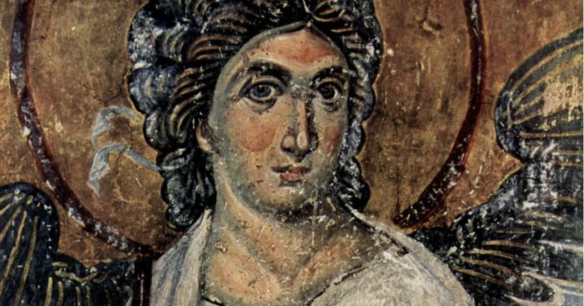Serbia's White Angel fresco | © WikiMedia Commons