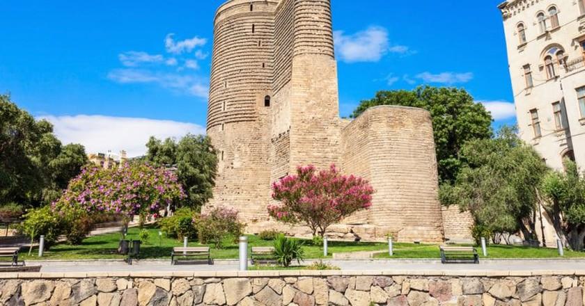 Maiden Tower in Icheri Sherer | © saiko3p/Shutterstock