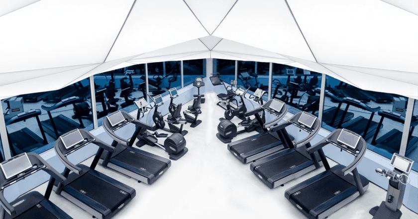 The futuristic Sky Wellness centre | © Sports Central