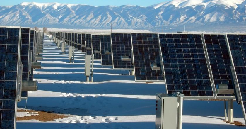 Solar panel plant   © Pexels