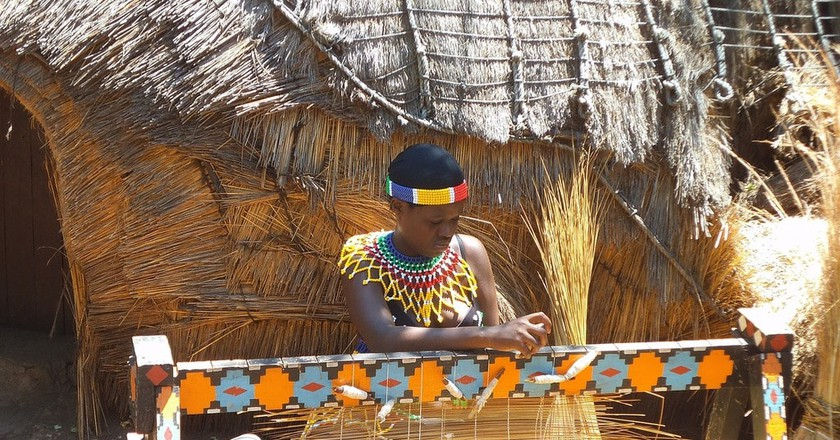Expert thatching is common in vernacular African architecture | © DelphineCourtes / Pixabay