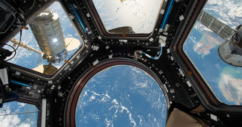 The view from the International Space Station | © Pixabay